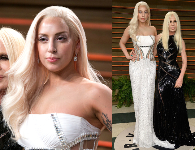 Lady Gaga Oscars After Party 2014