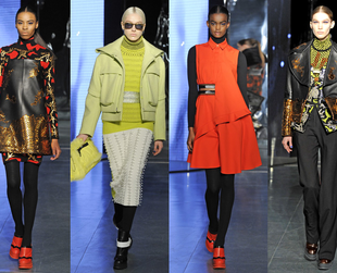 Have a look at the best highlights from the Kenzo, Isabel Marant, Saint Laurent, Emanuel Ungaro and Stella McCartney fall 2014 collections.