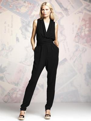 Peter Some For Designation Black Jumpsuit
