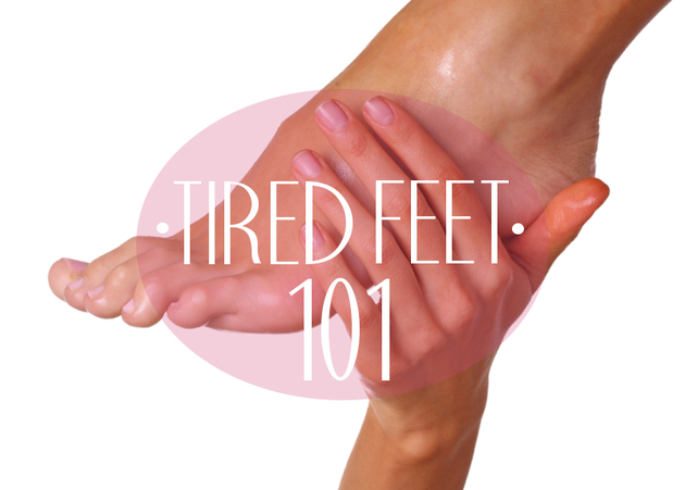 Remedies for Tired and Sore Feet