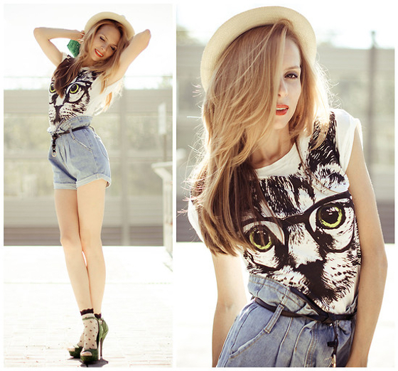 Straw Hat Summer Outfit