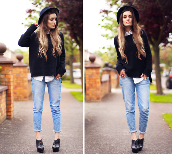 Wearing A Hat With Jeans