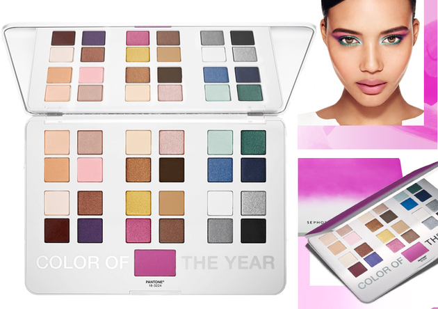 Sephora Pantone Universe The Eye Radiant Femme Artistry Set