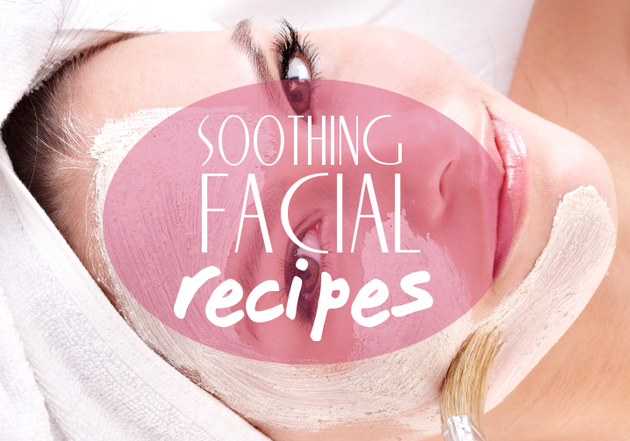 Soothing Homemade Face Masks