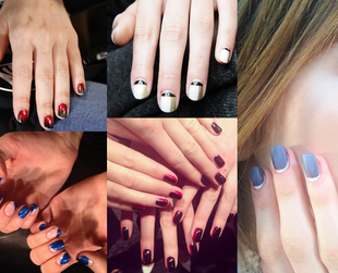 Have a look at some of the coolest nail trends spotted during the Fall 2014 Fashion Month at New York, London, Milan and Paris.
