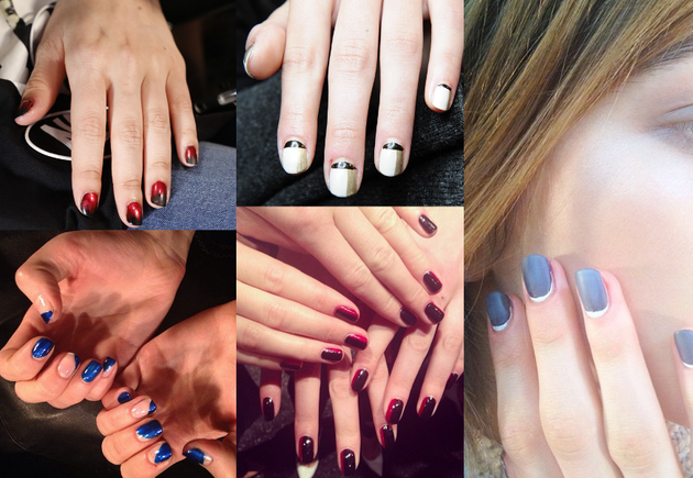 Simple Nail Art Fall 2014