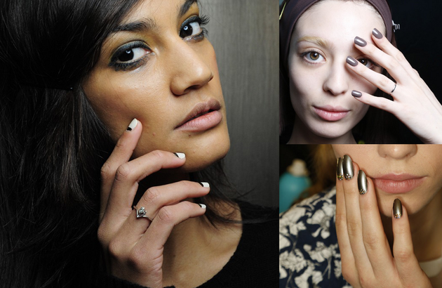 Top 3 Fall 2014 Nail Trends Spotted on the Runways