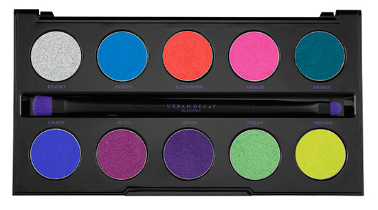 Urban Decay Electric Pressed Pigment Palette Shades