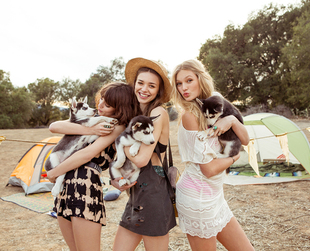 Check out cool free spirited options Urban Outfitters has put together in this month's lookbook and pick your favorites.