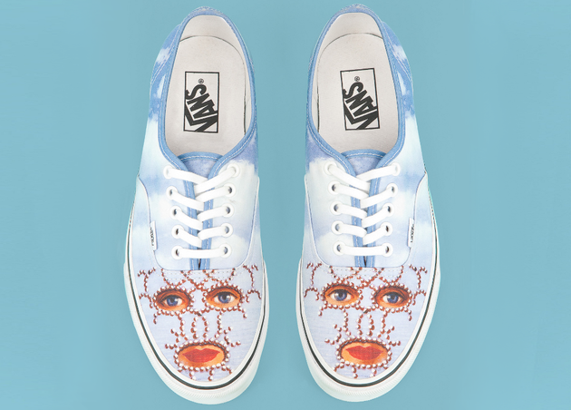 Eyes   Lips Print Opening Ceremony Magritte Sneakers