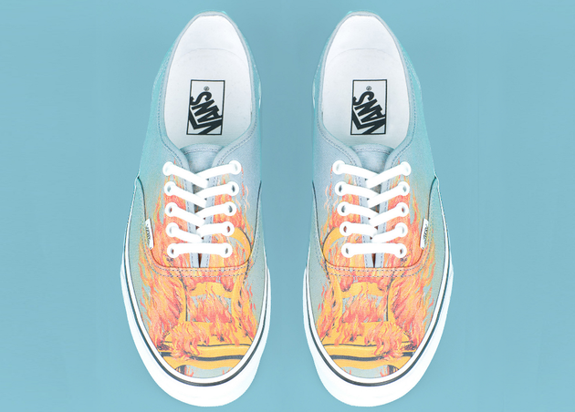 Fire Print Opening Ceremony Magritte Sneakers