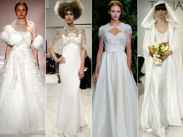 Bridal Trends 2014 Cape And Bolero