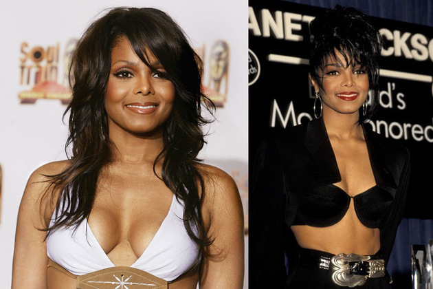 Janet Jackson Breast Implants