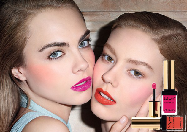 YSL Babydoll Kiss & Blush Spring 2014 Collection