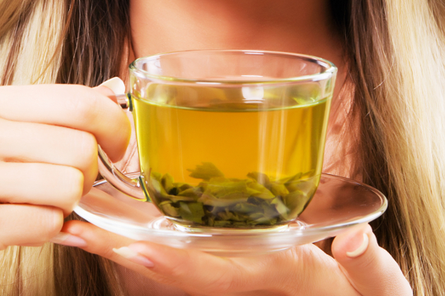 Drink Green Tea For Better Skin