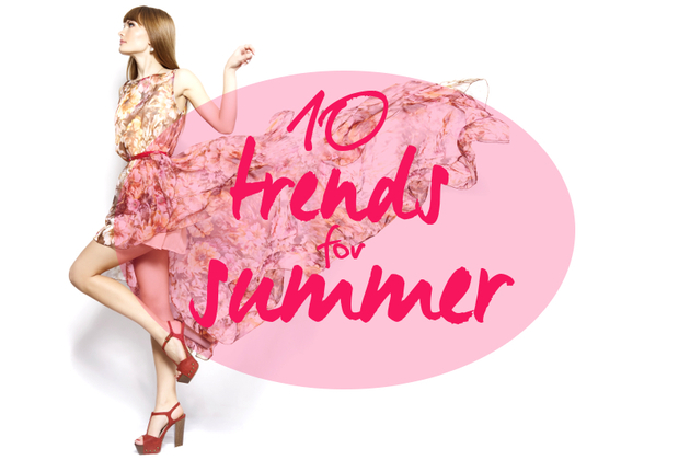 10 Most Wearable Summer 2014 Trends