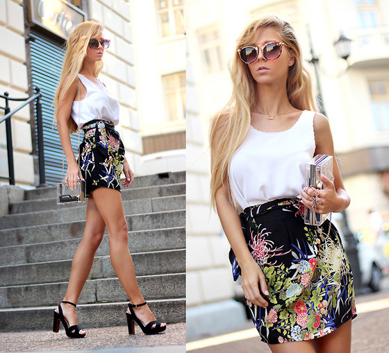 Wrap Skirt Outfit