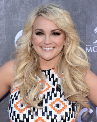 Jamie Lynn Spears Acm Awards 2014 Hair And Makeup
