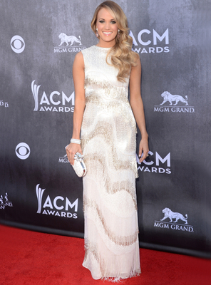 Carrie Underwood Dress Acm Awards 2014