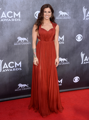 Cassadee Pope Dress Acm Awards 2014