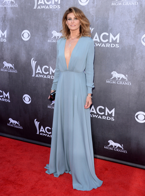 Faith Hill Dress Acm Awards 2014