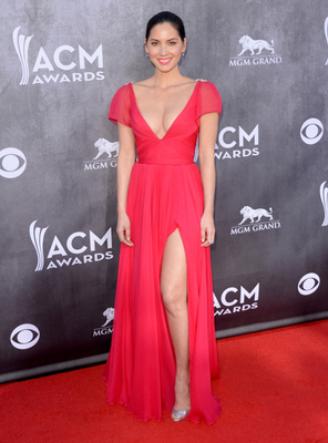 Olivia Munn Dress Acm Awards 2014