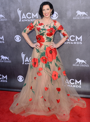 Shawna Thompson Dress Acm Awards 2014