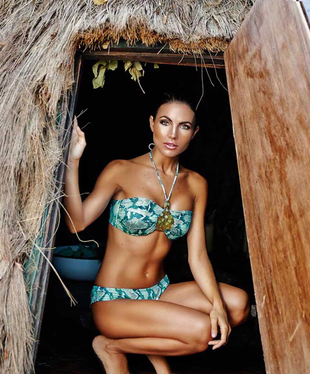 Aguaclara 2014 Swimwear Collection Look  (1)
