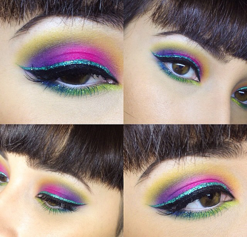Color Mix Eye Makeup