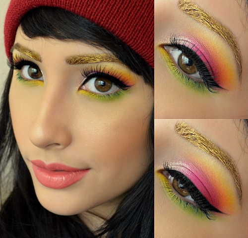 Multi Color Makeup