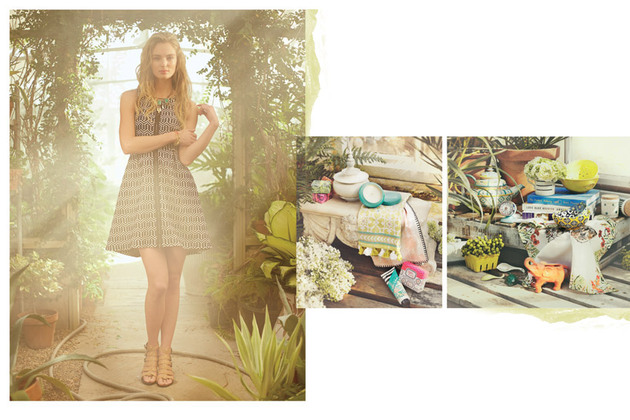 Anthropologie April 2014 Stylebook