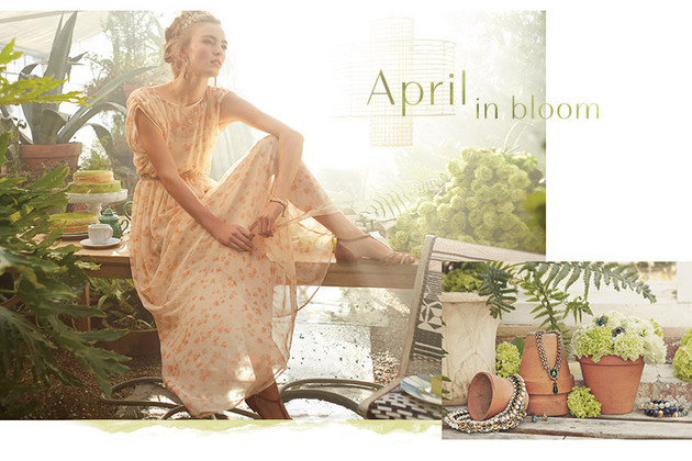 Anthropologie April 2014 Lookbook