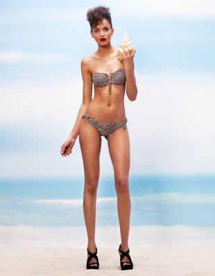 Bershka Swimwear Spring Summer 2014 Look    (1)
