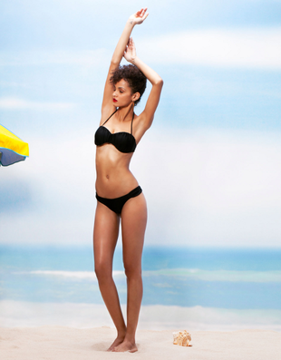 Bershka Swimwear Spring Summer 2014 Look    (11)