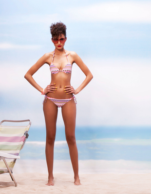 Bershka Swimwear Spring Summer 2014 Look    (14)
