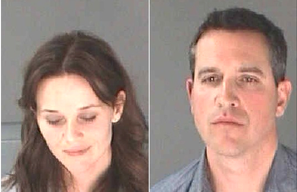 Reese Witherspoon And Jim Toth Mug Shots
