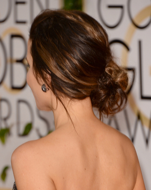 Kate Beckinsale Side Swept Updo