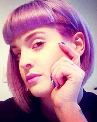 Kelly Osbourne Razored Bob