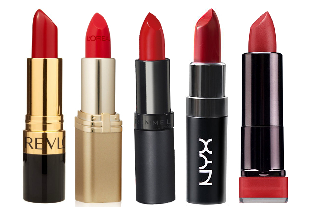 Red Lipsticks Drugstore