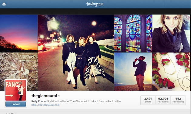 The Glamurai Instagram