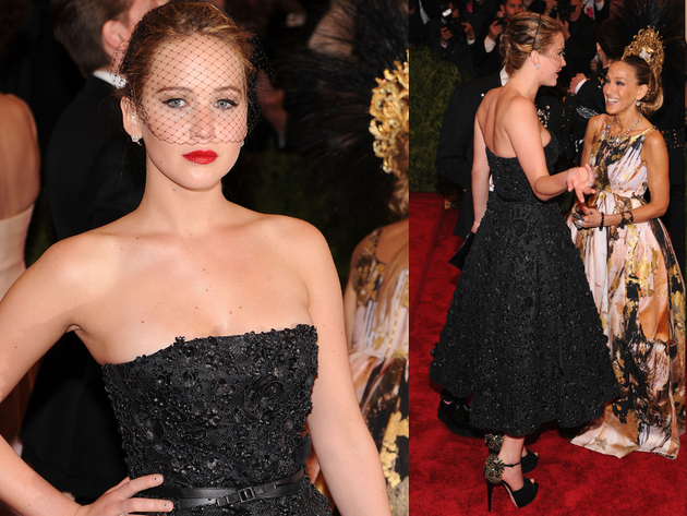 Jennifer Lawrence In Dior Dress