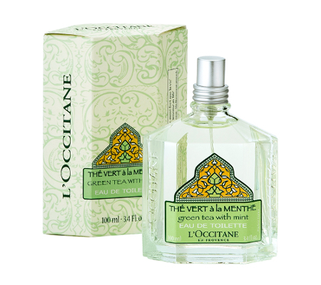 L Occitane Green Tea With Mint Fragrance
