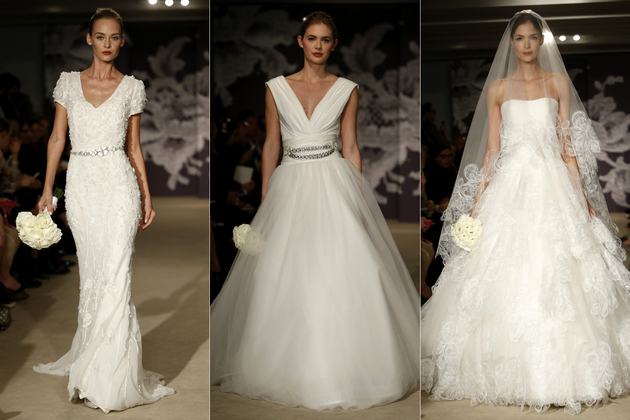 Carolina Herrera Bridal Collection Spring 2015