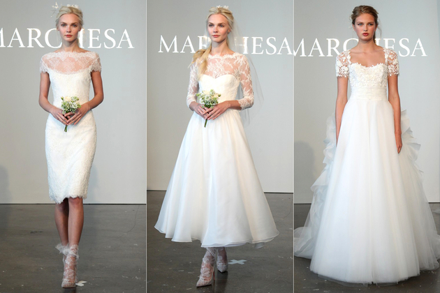 Marchesa Bridal Collection Spring 2015