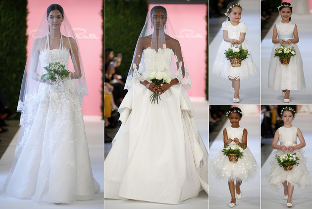 Oscar De La Renta Bridal Collection Spring 2015