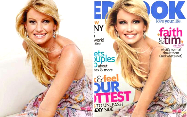 Faith Hill Photoshopped Cover