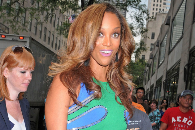 Tyra Banks Not Drinking Alcohol