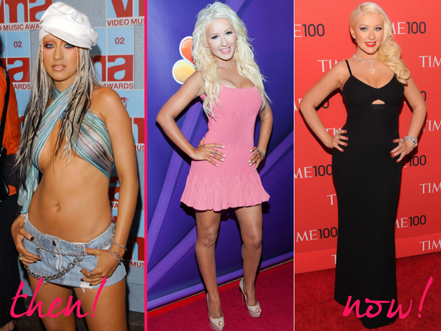 Christina Aguilera Old And New Style