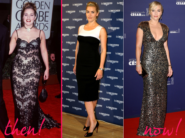 Kate Winslet Old And New Style