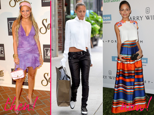 Nicole Richie Old And New Style